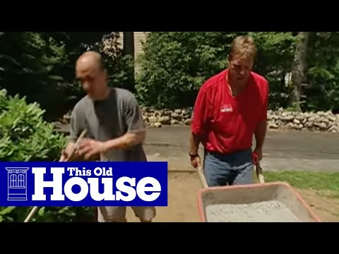 How to Lay a Brick Paver Walkway | This Old House