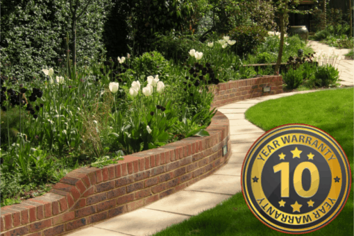 ten year warranty on driveways