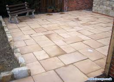 new yorkshire slabs on patio