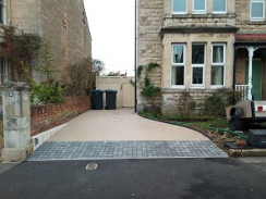 resin bound driveway small